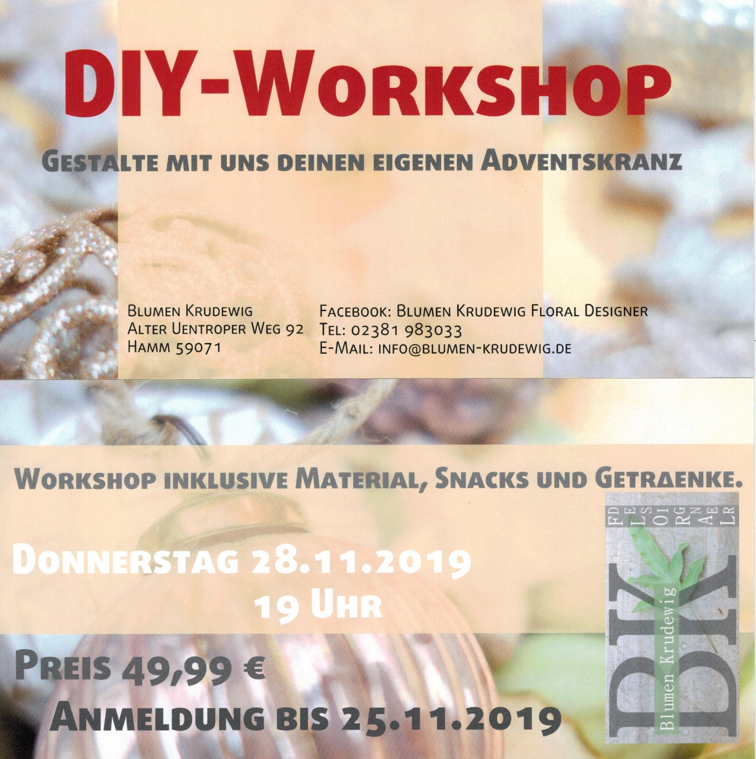 Adventskranz Workshop